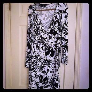 Cynthia Rowley  wrap dress sz L